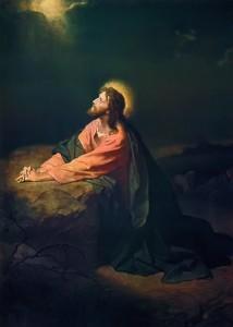 Christ in the Garden of Gethsemane Heinrich Hofmann, 1890