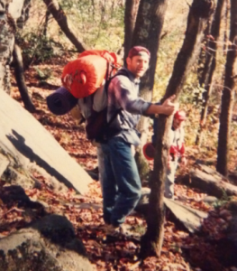 My first backpacking trip - Oct 1995